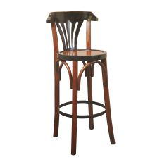 Barstool De Luxe 'Grand Hotel', Honey
