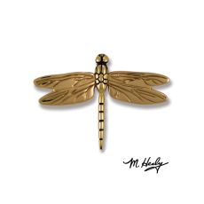 Dragonfly in Flight Door Knocker, Brass/Bronze (Premium)