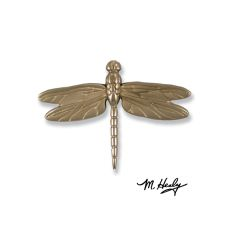 Dragonfly in Flight Door Knocker, Nickel Silver (Premium)