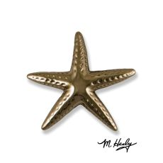 Starfish Door Knocker, Nickel Silver (Premium)