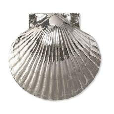 Sea Scallop Door Knocker, Nickel Silver (Premium)