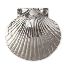 Sea Scallop Door Knocker, Nickel Silver (Premium)
