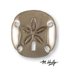 Sand Dollar Door Knocker, Nickel Silver (Premium)