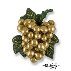 Grapes on the Vine Door Knocker, Brass (Premium)