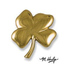 Four Leaf Clover Door Knocker, Brass (Premium)