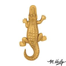 Alligator Door Knocker, Brass (Premium)