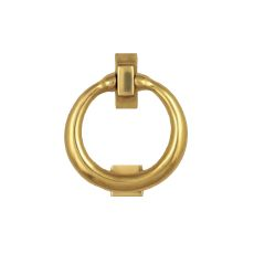 Ring Door Knocker, Brass (Premium)
