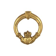 Claddagh Door Knocker, Brass (Premium)
