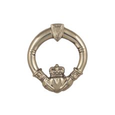 Claddagh Door Knocker, Nickel Silver (Premium)