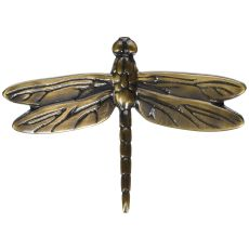 Dragonfly Outdoor Art, Bronze