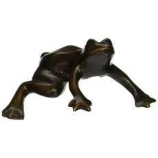 Frog Outdoor Art, Bronze