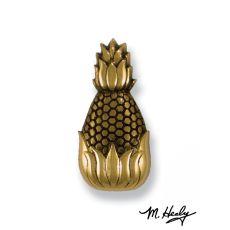 Hospitality Pineapple Doorbell Ringer , Brass