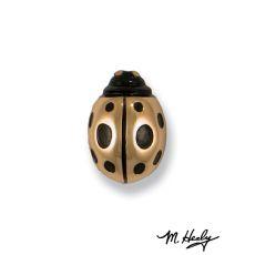 Ladybug Doorbell Ringer, Bronze