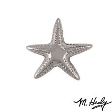Starfish Doorbell Ringer, Nickel Silver