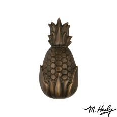 Hospitality Pineapple Door Knocker , Oiled Bronze (Standard)