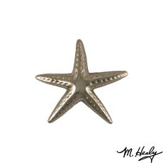 Starfish Door Knocker, Nickel Silver (Standard)