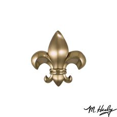 Fleur de Lys Door Knocker, Nickel Silver (Standard)