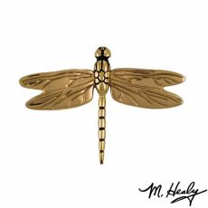 Dragonfly in Flight Door Knocker, Brass (Standard)