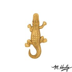 Alligator Door Knocker, Brass (Standard)