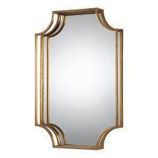 Uttermost Lindee Gold Wall Mirror