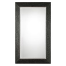Uttermost Creston Oversized Mottled Black Mirror