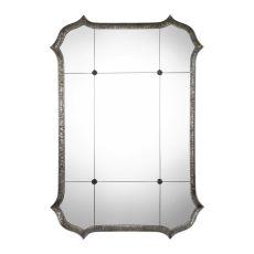 Uttermost Lesina Hammered Silver Mirror