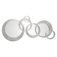 Uttermost Odiana Silver Rings Modern Mirror