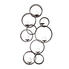 Uttermost Liya 7 Candle Iron Wall Sconce