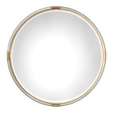 Uttermost Mackai Round Gold Mirror