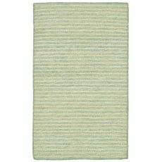 "Liora Manne Mojave Pencil Stripe Indoor/Outdoor Rug - Blue, 24"" By 36"""