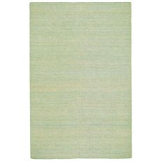 Liora Manne Mojave Pencil Stripe Indoor/Outdoor Rug - Blue, 5' By 7'6""