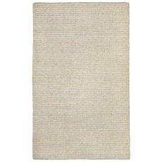 Liora Manne Mojave Pencil Stripe Indoor/Outdoor Rug - Grey, 5' By 7'6""