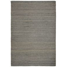 "Liora Manne Mojave Pencil Stripe Indoor/Outdoor Rug - Grey, 7'6"" By 9'6"""