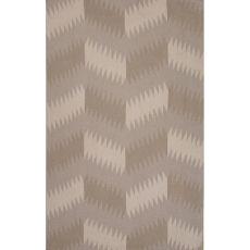 Flatweave Tribal Pattern Gray/Black Wool Area Rug (8X11)