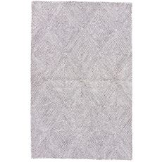 Tribal Pattern Wool, Viscose And Cotton Traditions Made Modern Tufted Area Rug