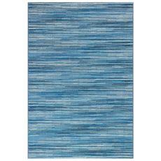 "Liora Manne Marina Stripes Indoor/Outdoor Rug China Blue 7'10""X9'10"""