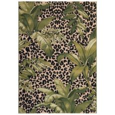 "Liora Manne Marina Safari Indoor/Outdoor Rug Green 4'10""X7'6"""