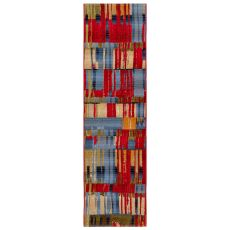 "Liora Manne Marina Paintbox Indoor/Outdoor Rug Multi 23""X7'6"""