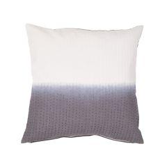 "Modern/Contemporary Pattern Gray Cotton Down Fill Pillow ( 20""X20"")"