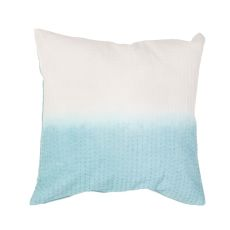"Modern/Contemporary Pattern Blue Cotton Down Fill Pillow ( 20""X20"")"