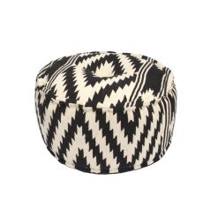Traditions Made Modern Poufs Cotton And Polyester Pouf