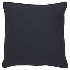"""Solids & Heather Pattern Blue Cotton Down Fill Pillow ( 20""""X20"""")"""