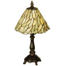"13"" H Willow Jadestone Mini Lamp"