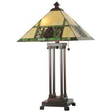 "25"" H Pinecone Ridge Table Lamp"