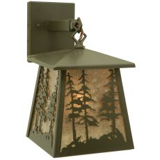 """7"""" W Stillwater Tall Pines Hanging Wall Sconce"""