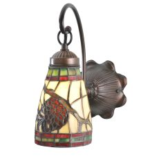 """6"""" W Pinecone Dome Wall Sconce"""