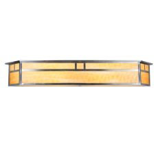 "38"" W Hyde Park Double Bar Mission Vanity Light"