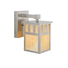 """5"""" W Hyde Park Double Bar Mission Solid Mount Wall Sconce"""
