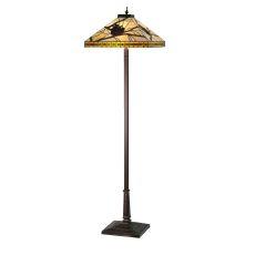 "60"" H Honey Pine Branch Mission Floor Lamp"