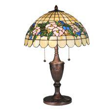 "24"" H Tiffany Pansy Table Lamp"